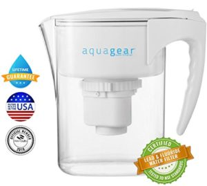 fluoride water filter pitcher