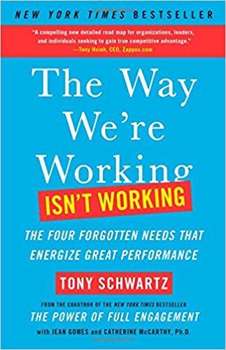 best business book tony schwartz