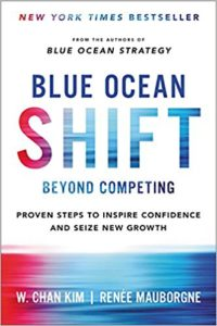 best marketing books blue ocean shift
