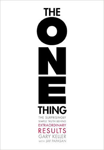 best business book the one thing