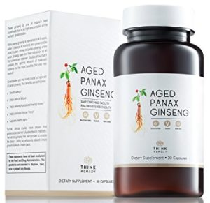 aged ginseng best supplements for energy