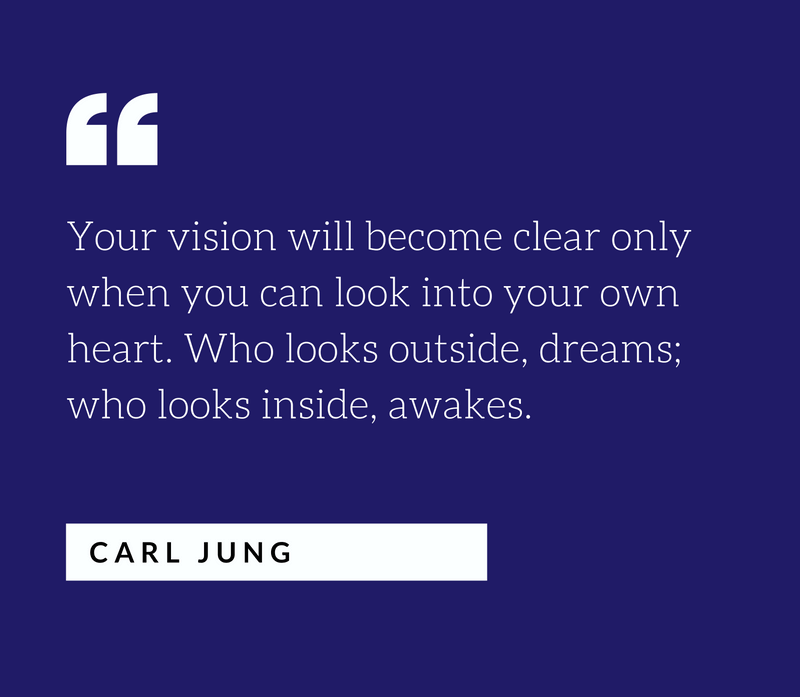personal vision statement carl jung quote